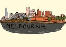 Год сбора винограда Мельбурна Стоковые Изображения RF