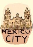 Год сбора винограда Мехико Стоковая Фотография RF