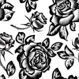Год сбора винограда цветет розы стоковая фотография rf