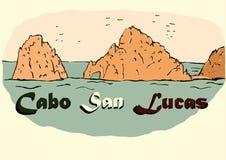 Год сбора винограда Cabo San Lucas Стоковые Изображения RF