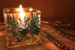 год свечки новый s Стоковое Изображение