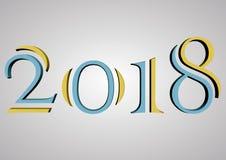 2018 год Стоковая Фотография RF