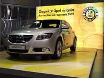 год 2009 opel insignia автомобиля Стоковые Фотографии RF