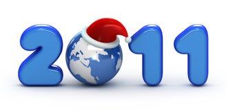 год 2011 символа иллюстрация штока