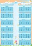 год 2012 eps календара стрелки Стоковые Фото