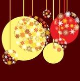 год baubles новый s Стоковые Изображения