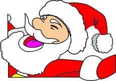 год claus новый santa рождества Стоковое Изображение
