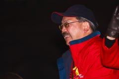 год san парада francisco 2012 китайцев новый Стоковое фото RF