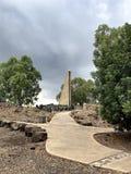 Голанские высоты, бдительность Gadot, Израиль Стоковые Фотографии RF