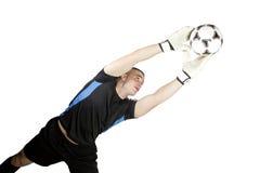 Голкипер футбола Стоковое Фото