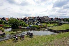 Голландия, ветрянки Zaanse Schans Стоковое Фото