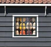 Голландия обувает окно Стоковая Фотография RF