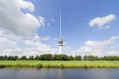 голландская башня tv ландшафта Стоковые Фото