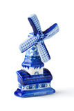 голландская ветрянка сувенира Стоковая Фотография