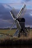 голландская ветрянка Стоковая Фотография
