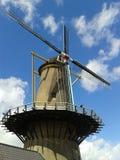 Голландская ветрянка Hellevoetsluis стоковое изображение rf