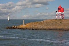 голландская гавань покидая корабль sailing Стоковая Фотография