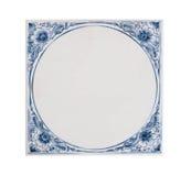 Голландская голубая плитка Стоковая Фотография RF
