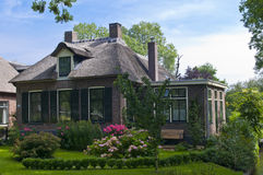 голландская дом традиционная Стоковые Изображения RF