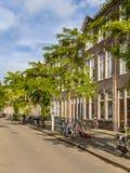 Голландская историческая улица Стоковые Изображения RF