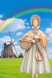 голландская повелительница Стоковые Фото
