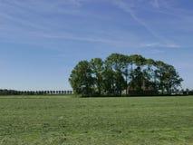 Голландская ферма на стороне страны Стоковые Фото