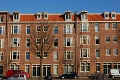 голландские дома стоковое изображение