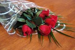 голландские красные розы Стоковое фото RF