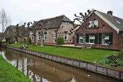 голландские фермы стоковое изображение