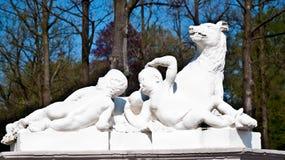 голландский дворец сада Стоковые Изображения RF