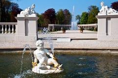 голландский дворец сада Стоковые Фотографии RF