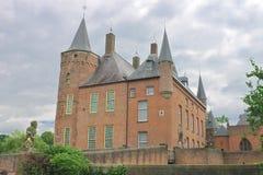 Голландский замок Heeswijk. Стоковые Фото