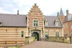 Голландский замок Heeswijk. Стоковое фото RF