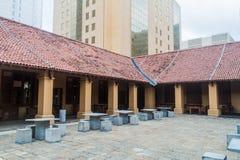 Голландский предел покупок больницы в Коломбо, Lan Sri стоковое фото rf