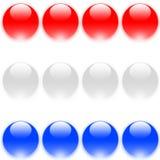 голландский флаг Стоковые Изображения RF