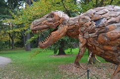 Голова динозавра стоковые изображения rf