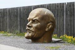 Голова Ленина стоковое фото rf