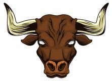 Голова Bull Стоковое Изображение