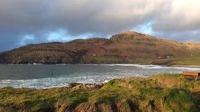 Голова Muckross малый полуостров около 10 km к западу от Killybegs, Co Donegal, в северозападной Ирландии акции видеоматериалы