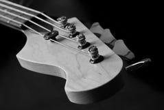 головка гитары крупного плана Стоковое Изображение