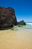 головка пляжа fingal Стоковое Изображение RF