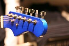 головка электрической гитары Стоковые Изображения