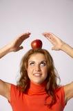 головка яблока Стоковые Изображения