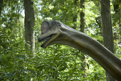 головка динозавра Стоковое Изображение