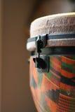 головка djembe конца 2 вверх Стоковое Фото