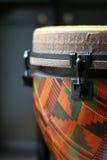 головка djembe конца 4 вверх Стоковое Изображение RF