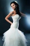 головка glamor цветка невесты ее белизна Стоковое Изображение