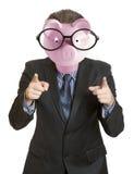 Головка Piggy банка Стоковая Фотография RF