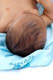 головка s крупного плана младенца Стоковое фото RF