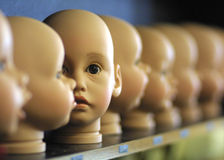 головки кукол стоковая фотография rf